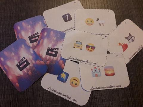 Jeu de 45 cartes: Les Emojis font leur cinéma