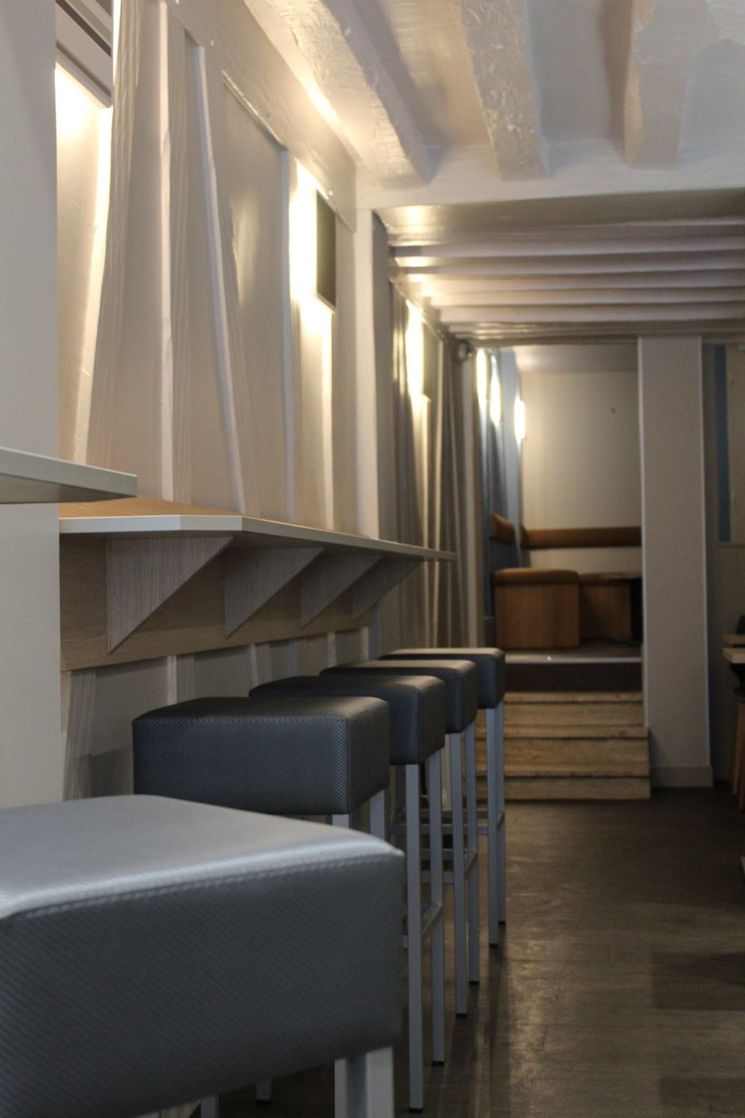 Travaux de rénovation au Café Scazz à Rouen