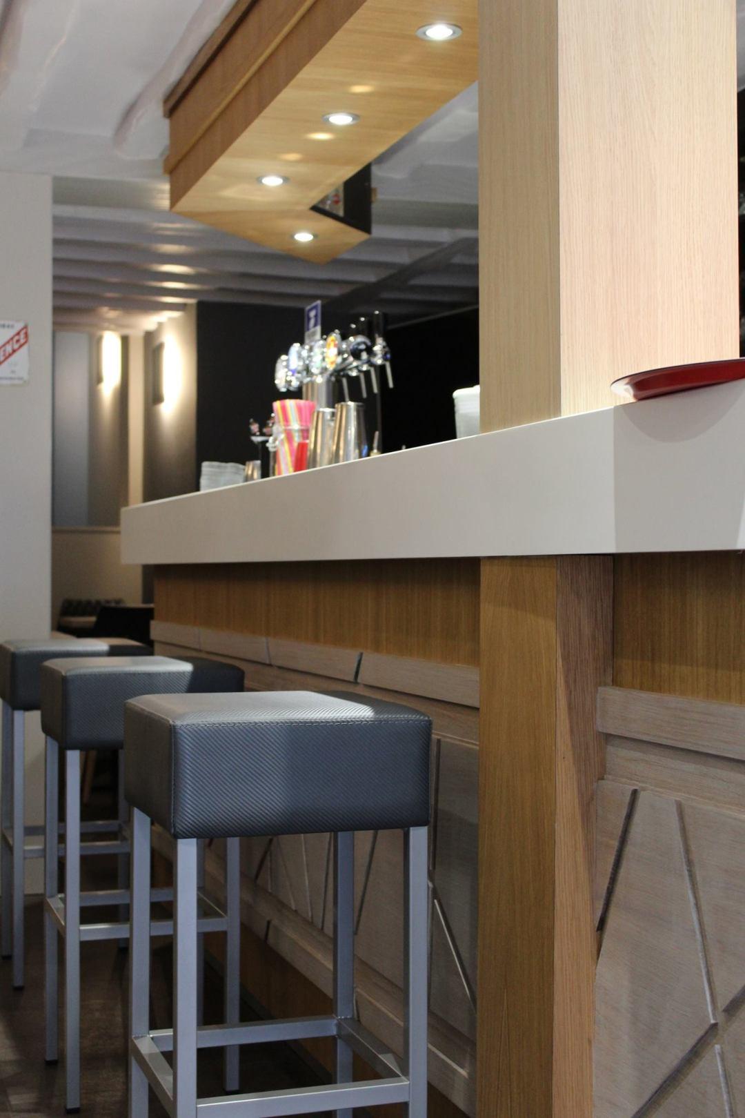 Café scazz Rouen - Les Associés en Décoration
