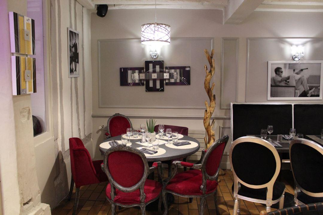décoration intérieur restaurant d'eux-même rouen
