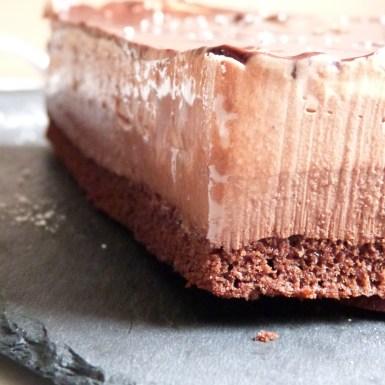 Bavarois aux 3 chocolat pour annive juju et vali (1)