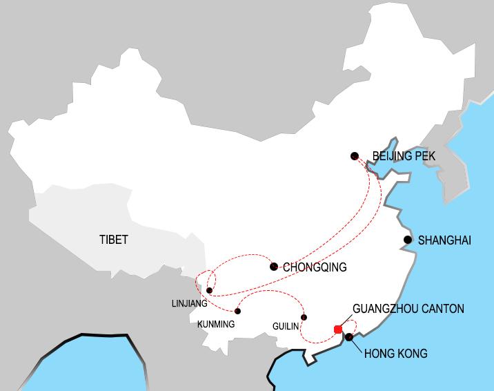 Jour 6 Guangzhou Canton Les Aventurbaines