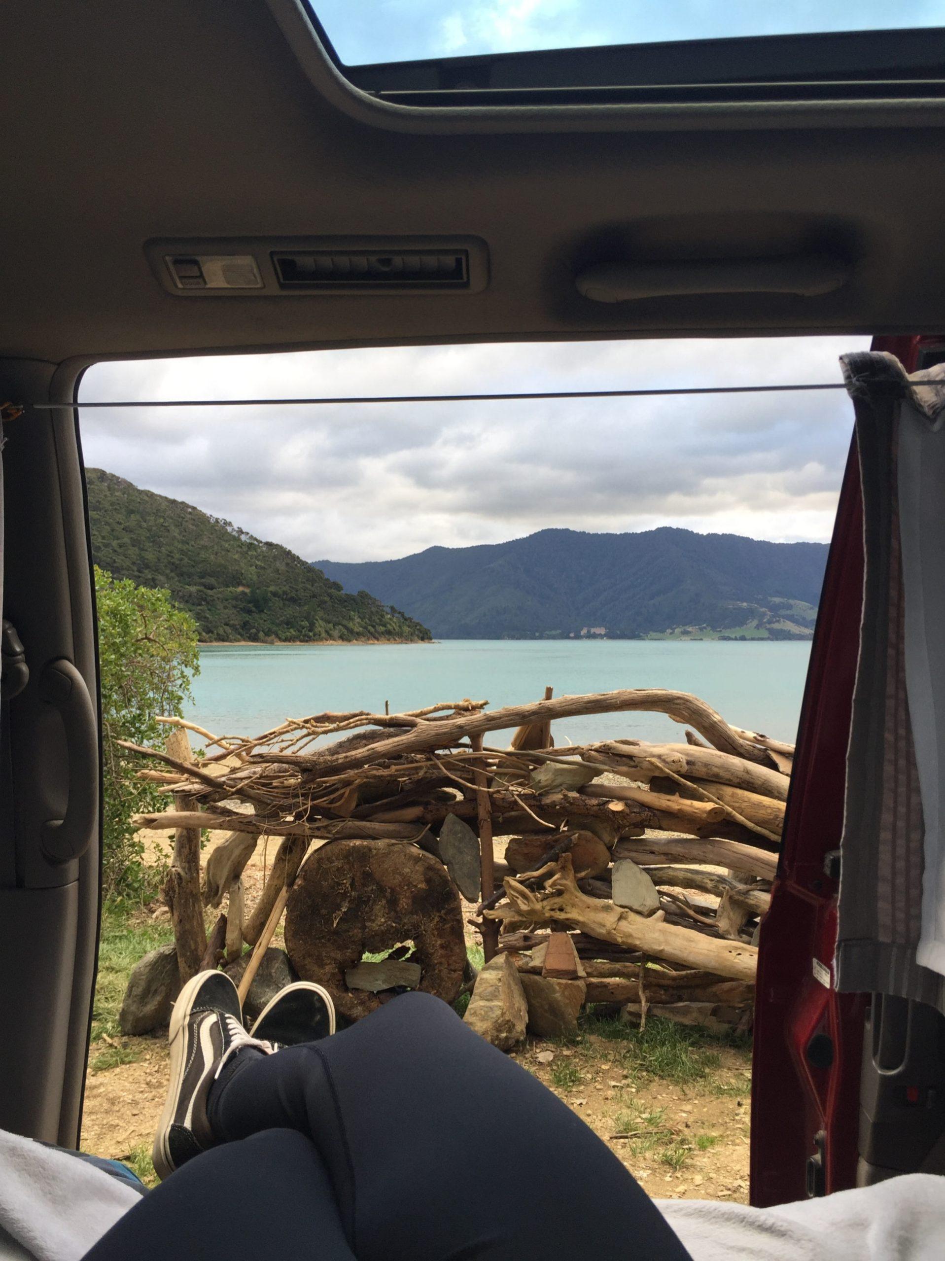 vanlife Nouvelle Zélande