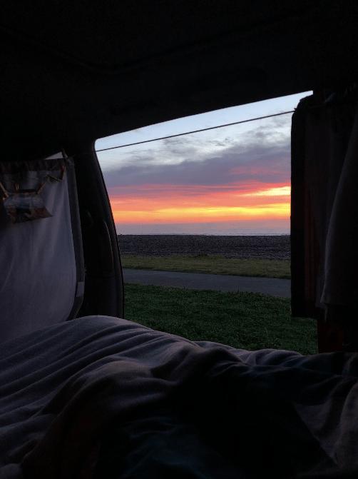 lever de soleil van