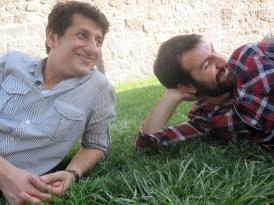 Ilyas (à droite) et son ami Osman (je crois)