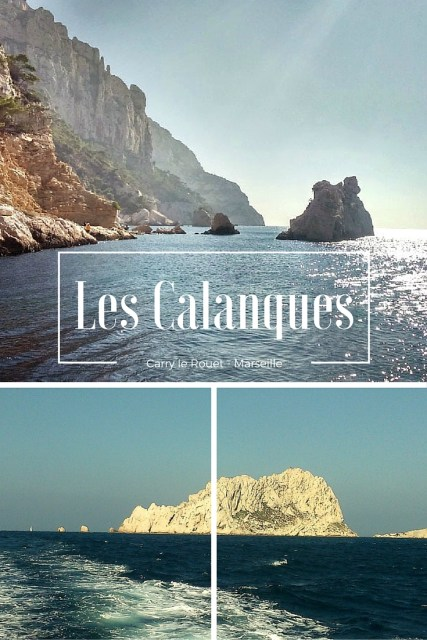 Les calanques de Carry à Marseille