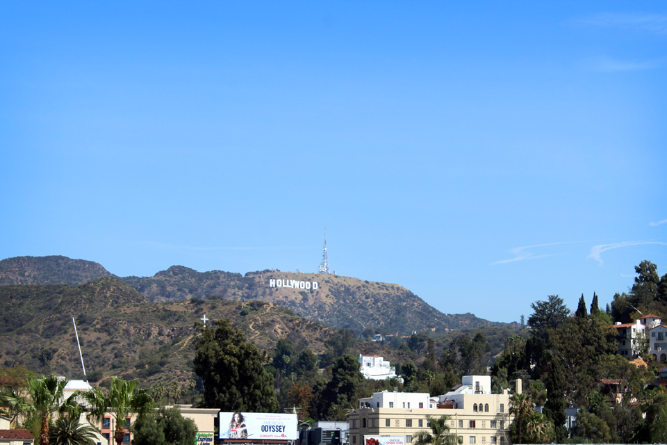 Que faire à los angeles - Vue Hollywood Sign
