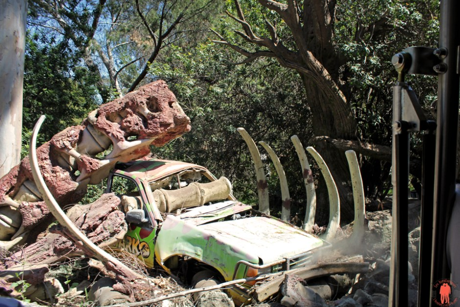 Universal Studio Los Angeles - Décor Jurassic Park