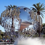 Universal Studio Los Angeles - Globe entrée