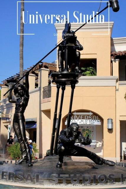 Universal Studio Los Angeles Statues
