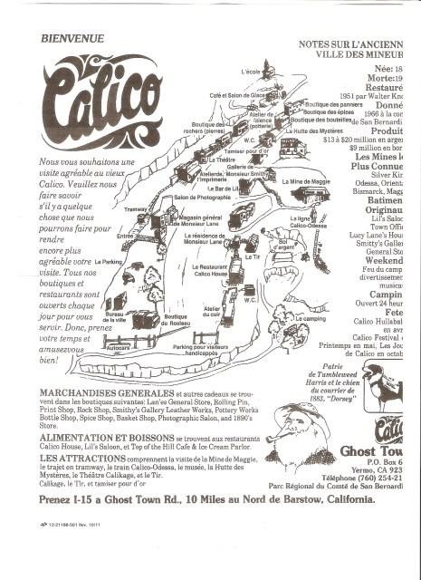 Plan Calico Français