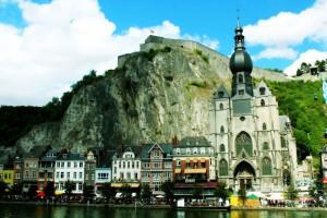 Dinant, Citadelle et Eglise