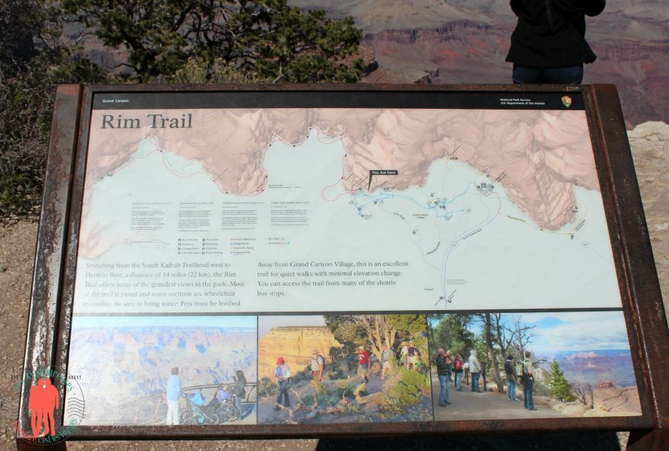 Rim Trail Grand Canyon