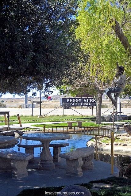 Route 66 - Peggy Sues Diner Extérieur
