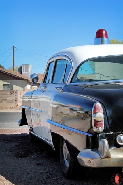 Route 66 - Voiture de Police Seligman