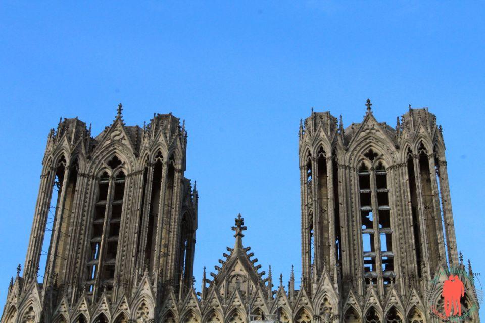 Visiter Reims - Haut Cathédrale Reims