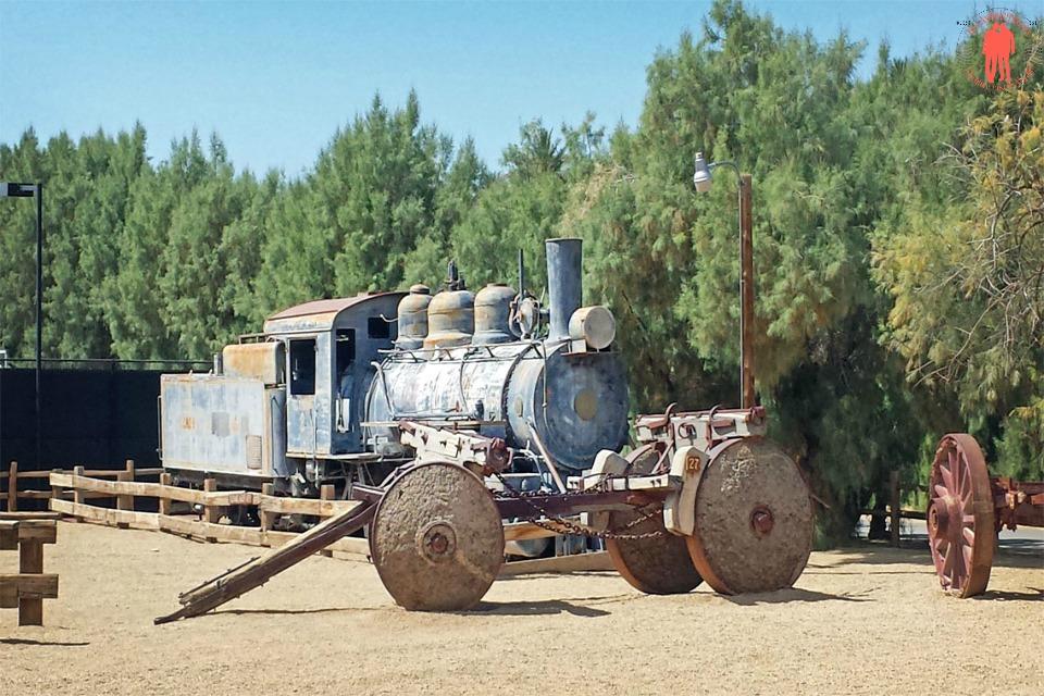 Locomotive La Vallée de la Mort