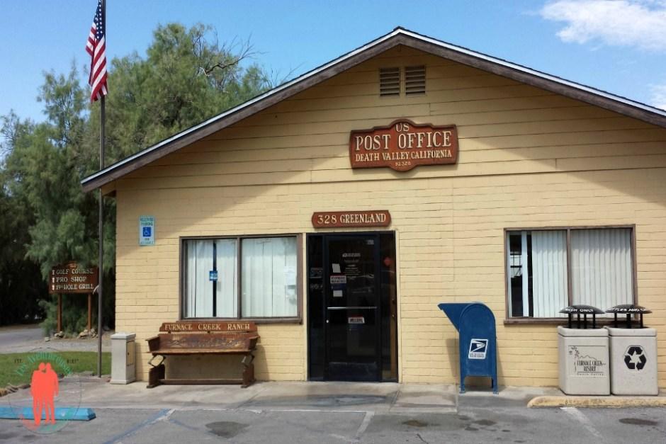 Post Office, Furnace Creeks la vallée de la mort