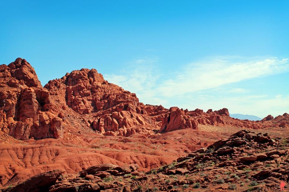 Roches Rouges - Vallée du Feu Nevada