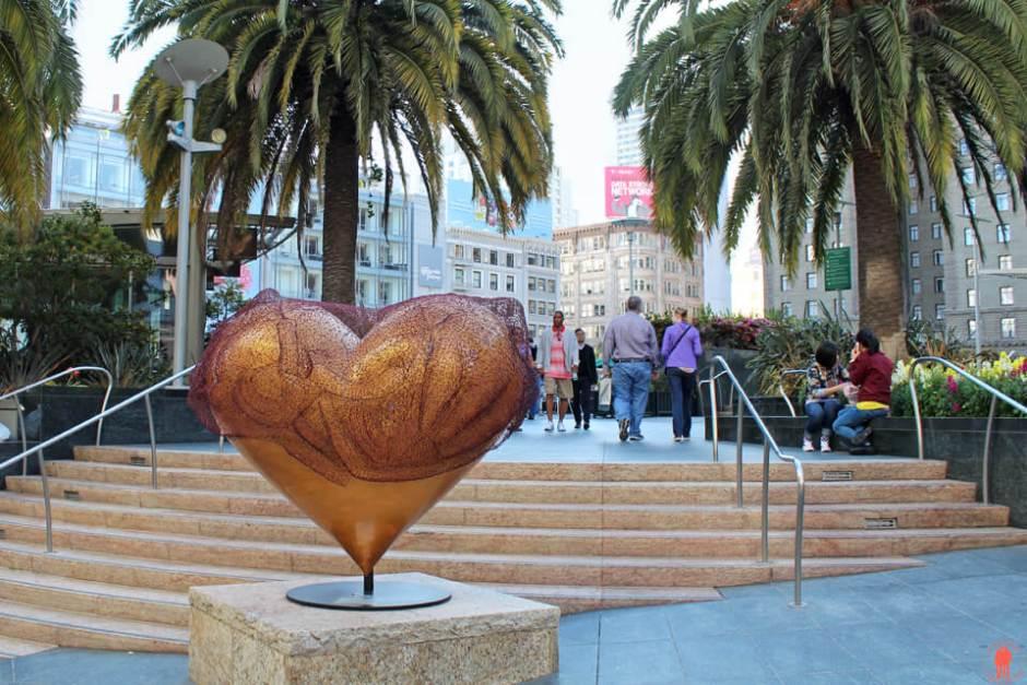 Coeur Union Square Visiter San Francisco