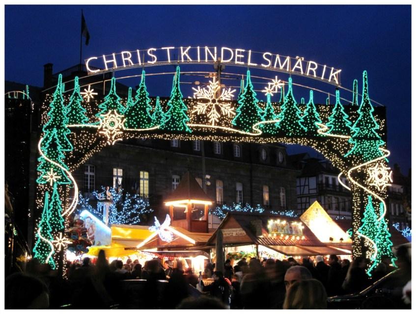 Marché de noël Strasbourg, Christkindelsmarik