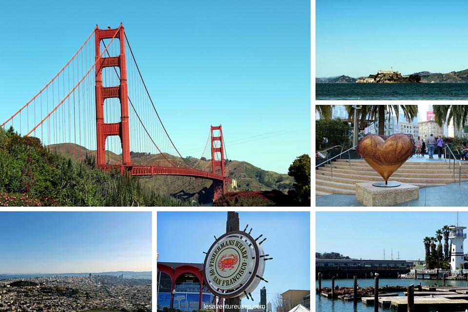 Visiter San Francisco - Pêle mêle de photos