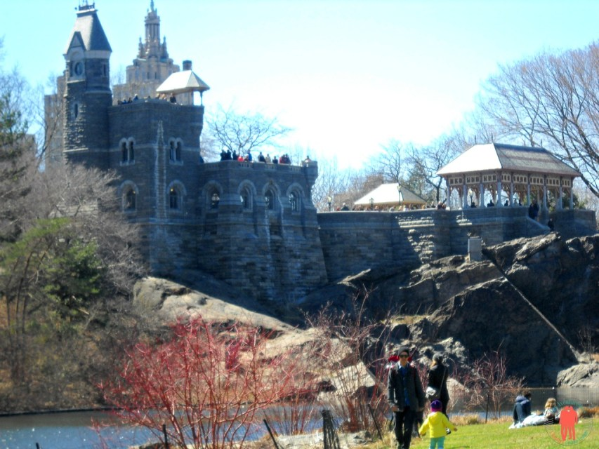 Belvedere Castle, Central Park, New-York