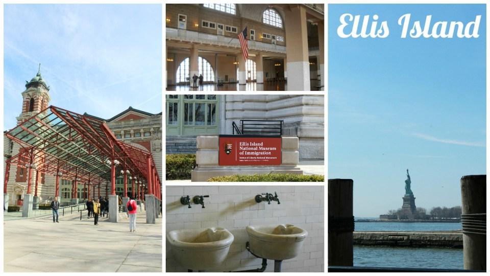 Collage Ellis Island