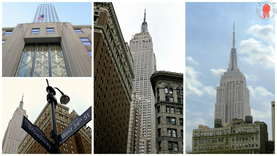 Collage Empire State Building NYC