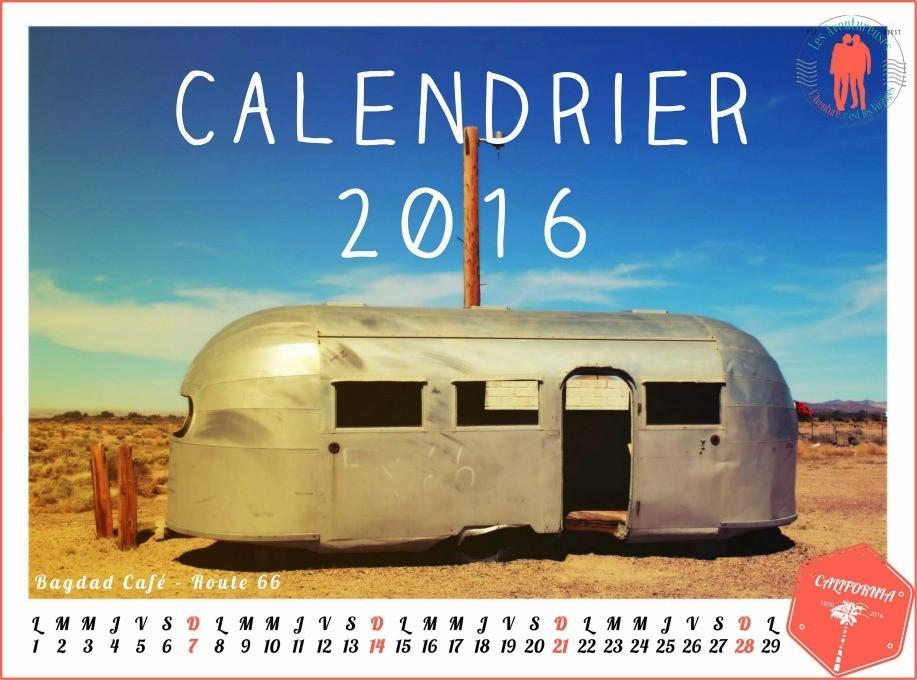 Couverture Calendrier 2016 Aventureuses