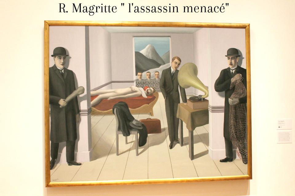 L'assasin Menacé, R. MAgritte, Moma