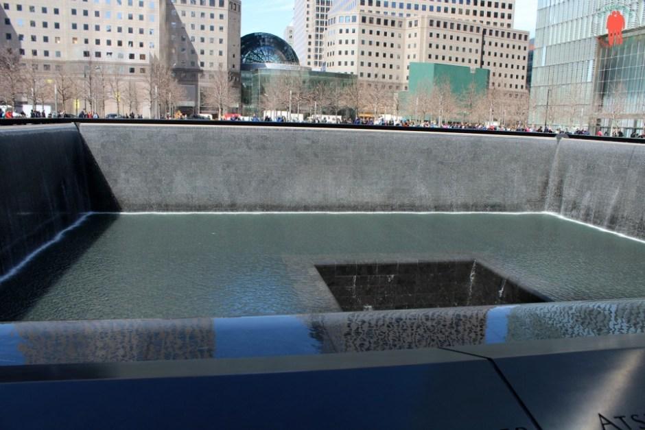 Second bassin, Memorial world trade center, financal District