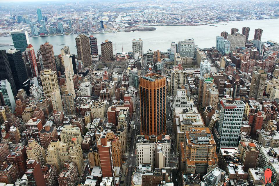 Vue sur l'Hudson - Empire State Building