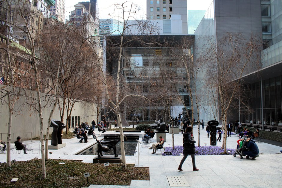 MoMa New-York - Jardins des Sculptures