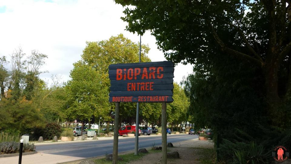 Panneau d'entréee Biopac Douée la fontaine