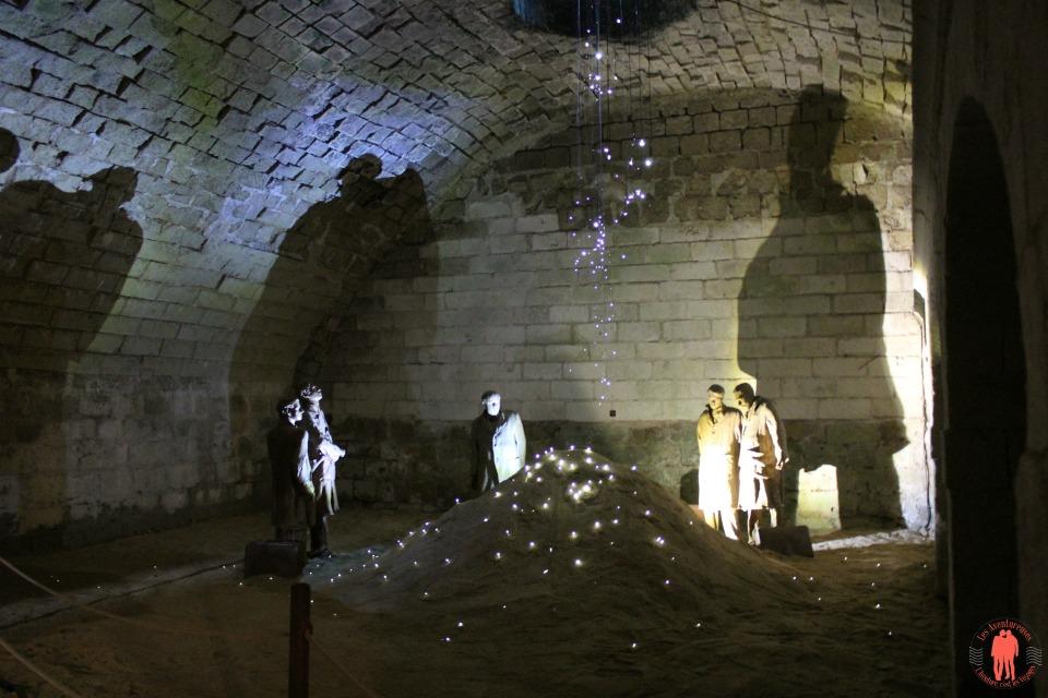 Visiter saumur Cave château de saumur