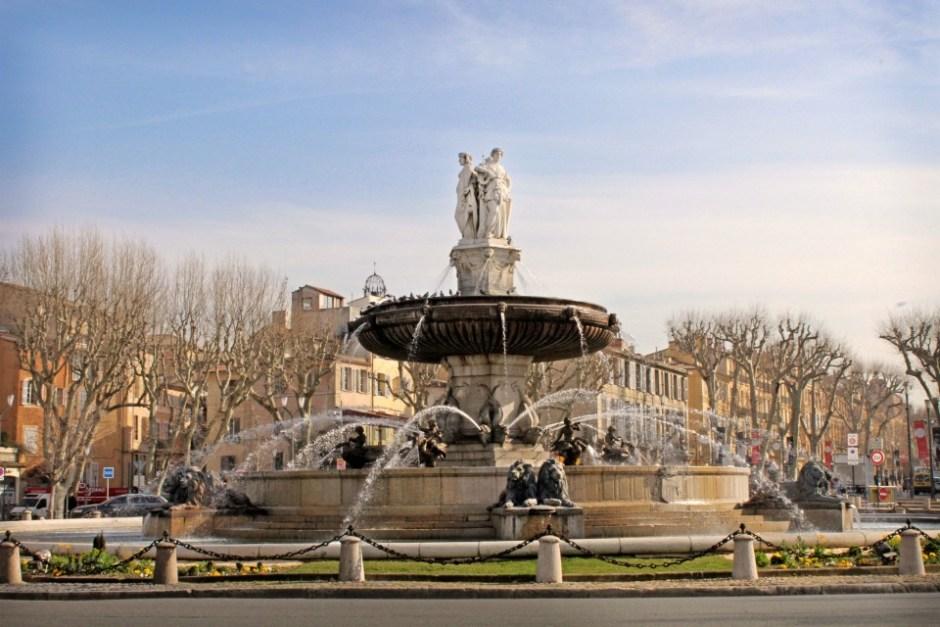 Fontaine Rontonde Aix en Provence