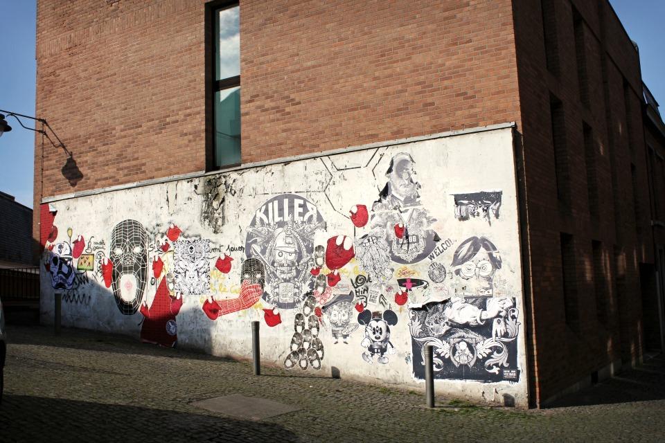 Street Art Mons Belgique