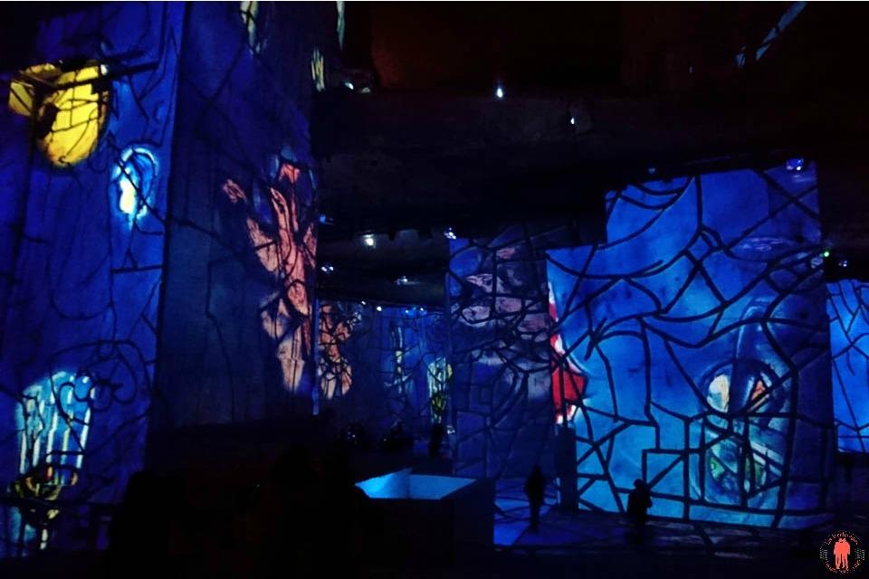 Carrières de Lumières Chagall période Bleue 2