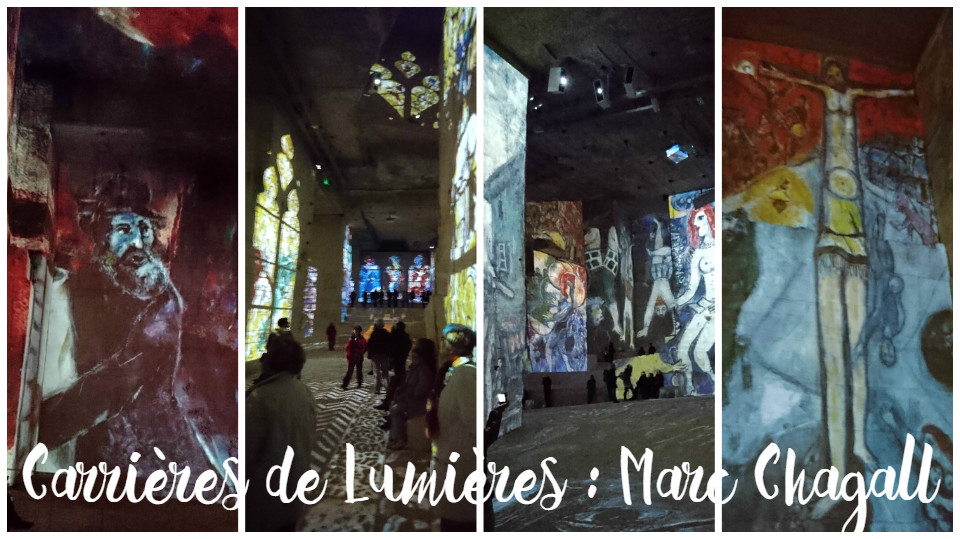 Carrières de Lumières Marc Chagall