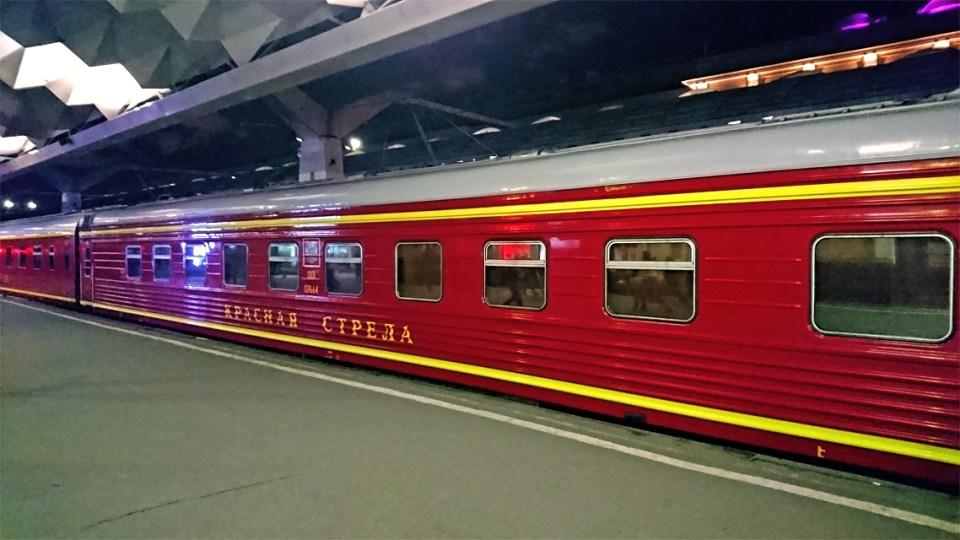 Prendre le train en russie - Krasnaya Strella 1