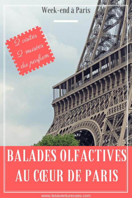 Balades Olfactives à Paris - Musée du Parfum Pin