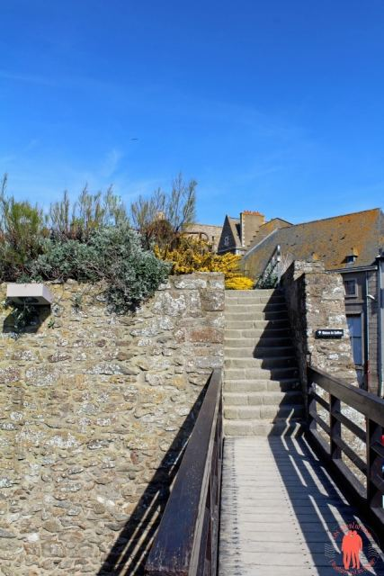Chemin vers Surcouf - Visiter Saint-Malo