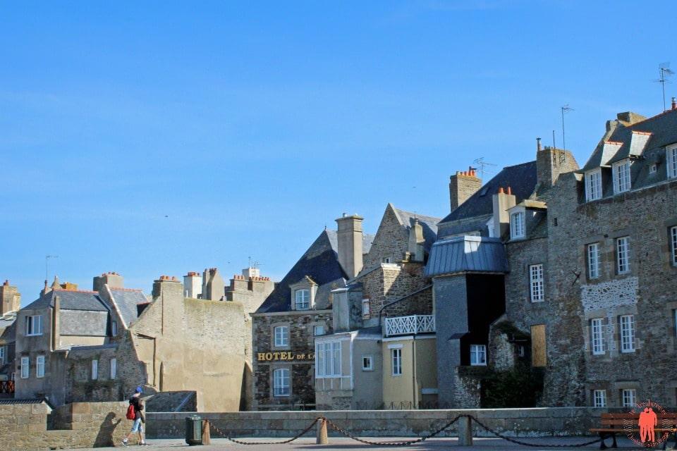 Ville depuis les remparts - Visiter Saint-Malo
