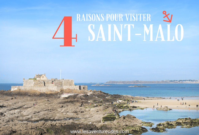 Visiter Saint-Malo- Blog Post Illustration