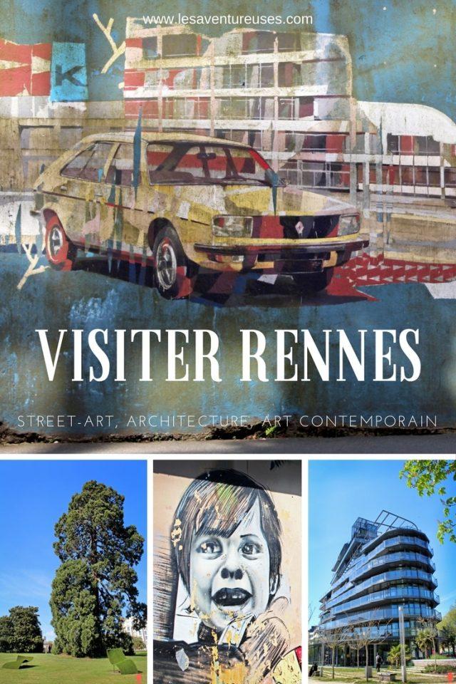 Visiter Rennes - Street Art, Architecture et Art Contemporain