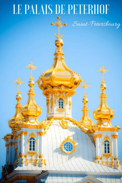 Palais de Peterhof, Dôme Grand Palais