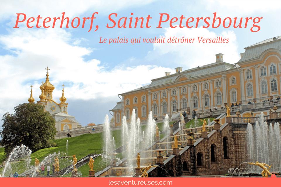 Peterhorf - Saint-Petersbourg Russie