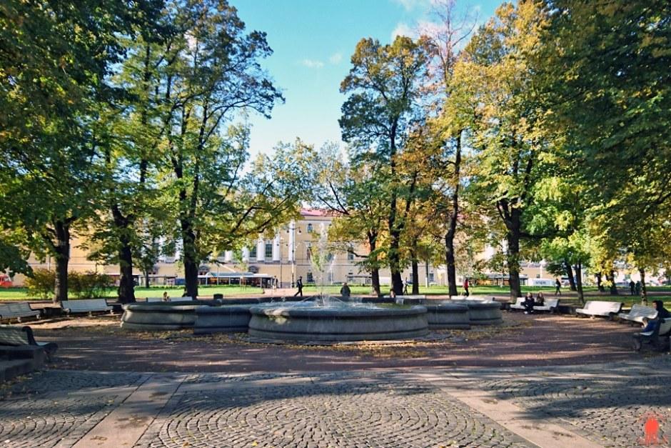 Visiter-Saint-Pétersbourg-jardin-mikhaïlovski