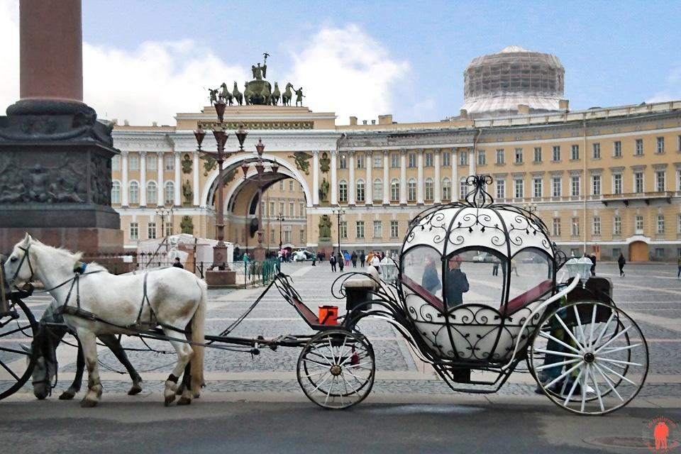 Place Impériale Visiter Saint Petersbourg